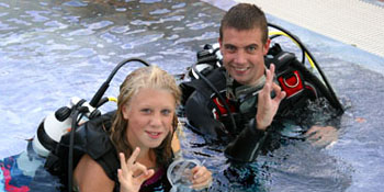The PADI Bubblemaker Course for Kids